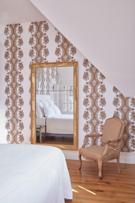Chambre nuit de miel au Chateau de Sacy