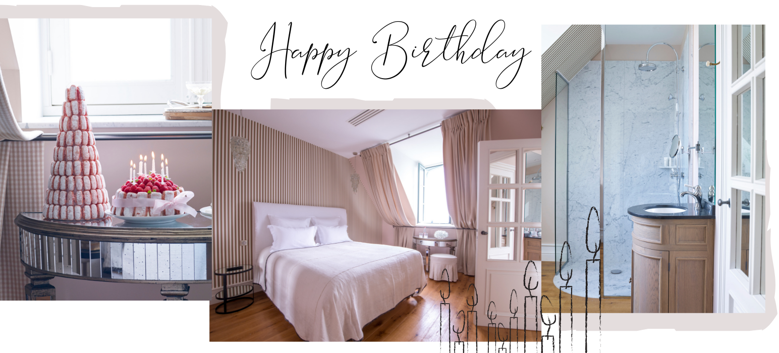 Chambre Happy Birthday Chateau de Sacy