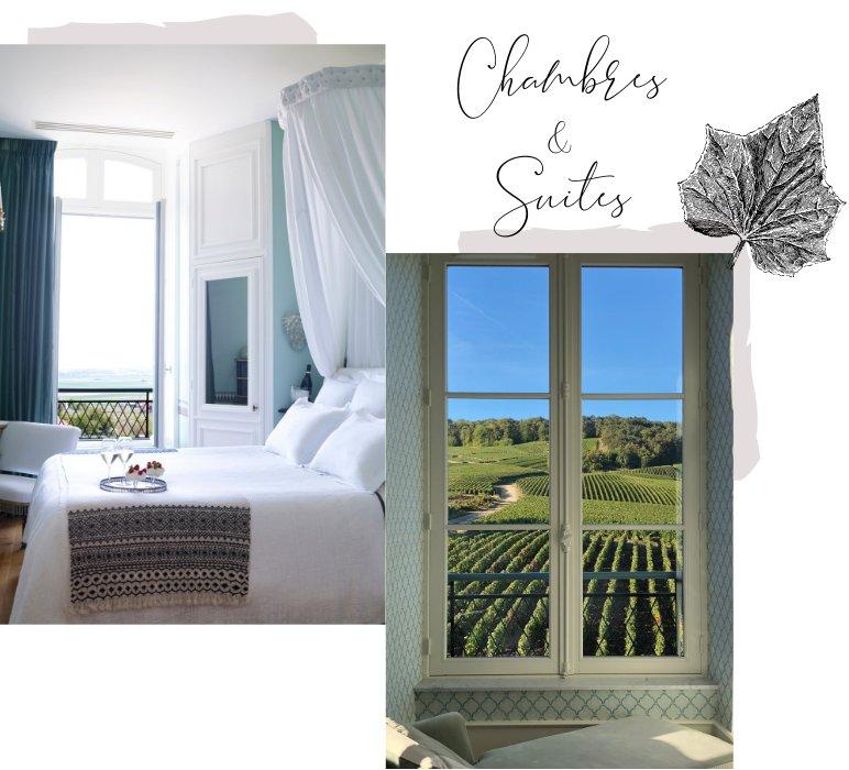 Chambres et Suites du Château de Sacy