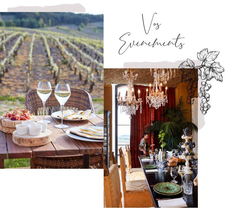 Vos évènements au Château de Sacy