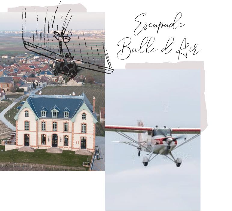 Escapade das les air au Chateau de Sacy